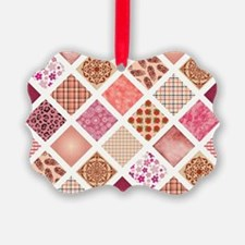 CRAZY QUILT Ornament