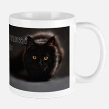 Black Cat Photo Mug Mugs