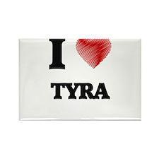 I Love Tyra Magnets