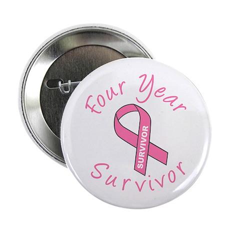 Four Year Survivor Button