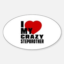 I Love Stepbrother Decal