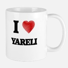 I Love Yareli Mugs