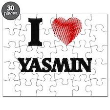 I Love Yasmin Puzzle