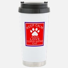 Keep Calm And Colorpoin Travel Mug