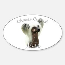 Crested Mom2 Oval Decal