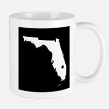 florida white black Mug