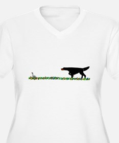 Gordon Setter in the Field II T-Shirt