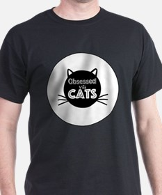 Obsessed with Cats T-Shirt