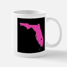 florida pink black Mug
