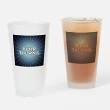 Build The Wall Drinking Glass