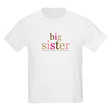 Big Sis (fun) Kids Light T-Shirt