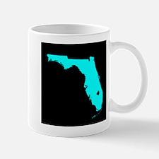 florida blue black Mug