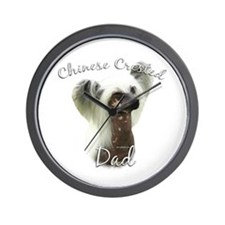 Crested Dad2 Wall Clock