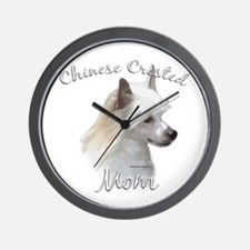 Crested Mom2 Wall Clock