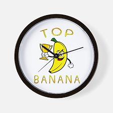 Cute Banana Wall Clock