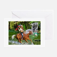 Enchanted Jungle Rider Greeting Cards