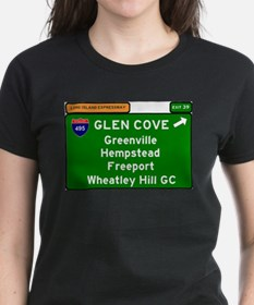 I495 - LONG ISLAND EXPRESSWAY - GLEN COVE T-Shirt