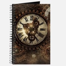 Vintage Steampunk Clocks Journal