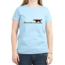 Irish Setter in the Field T-Shirt