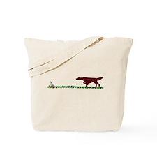 Irish Setter in the Field Tote Bag