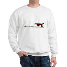 Irish Setter in the Field Sweatshirt