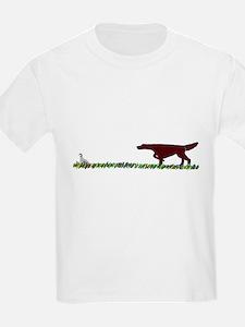 Irish Setter in the Field T-Shirt