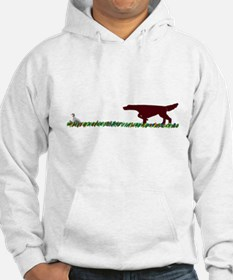 Irish Setter in the Field Jumper Hoody