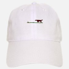 Irish Setter in the Field Baseball Baseball Cap