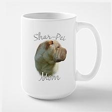 Shar Pei Mom2 Large Mug