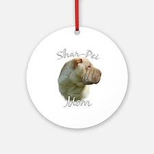Shar Pei Mom2 Ornament (Round)