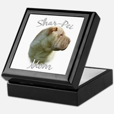 Shar Pei Mom2 Keepsake Box