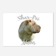 Shar Pei Mom2 Postcards (Package of 8)