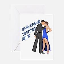 Cool Salsa dancing Greeting Card