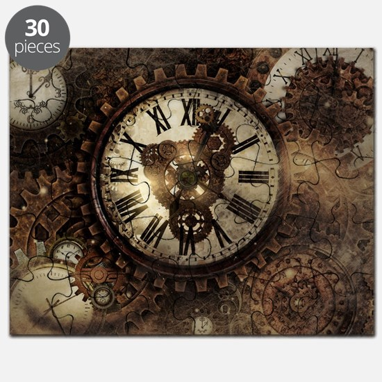 Vintage Steampunk Clocks Puzzle