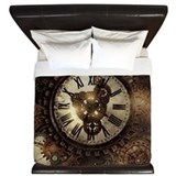 Steampunk Luxe King Duvet Cover