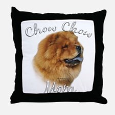Chow Mom2 Throw Pillow