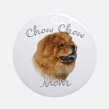 Chow Mom2 Ornament (Round)