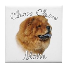 Chow Mom2 Tile Coaster