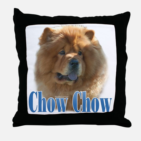 ChowName Throw Pillow