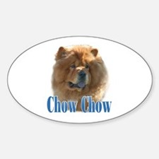 ChowName Oval Decal