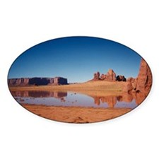 Monument Valley 2 Oval Decal