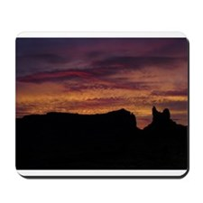 Monument Valley Sunset Mousepad