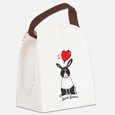 I love Dutch bunnies chubby bunny Canvas Lunch Bag