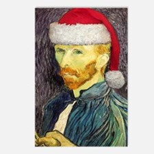 Van Gogh Santa Postcards (Package of 8)
