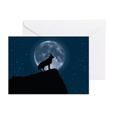 Wolf Moon Greeting Cards (Pk of 10)