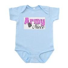 Army Niece Infant Bodysuit