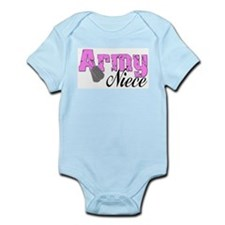 Army Niece Infant Bodysuit