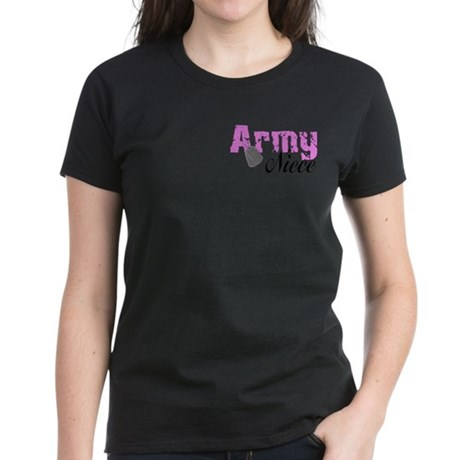 Army Niece Women's Dark T-Shirt