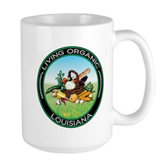 Living Organic Louisiana Mug