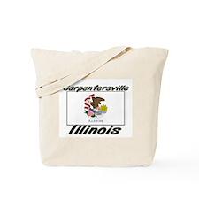 Carpentersville Illinois Tote Bag